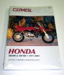 Clymer Manual XR50/CRF50 & XR70/CRF701