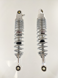 TBParts - 330mm Rear Shock Set in Chrome1