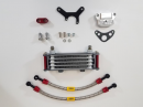 TBParts - Oil Cooler Kit w/ Intake mount for Z50 CRF50 XR50 CT70 & Pit bikes1