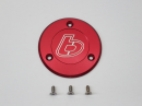 .TBParts - Billet Ignition Cover in Red for DRZ110 / KLX110 2002-20091
