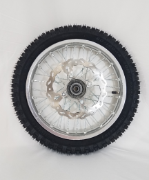 THUMPSTAR - 14IN FRONT WHEEL WITH TIRE SILVER1