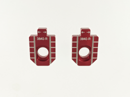 Thumpstar - Billet Red Chain Adjuster Block Set1