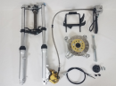 CT70 Conventional style front end fork kit with disc brake1