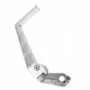 TWO BROTHERS Kick Starter - Forged Aluminum in Silver for KLX/DRZ1101