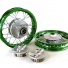 "10""  Green Aluminum Wheels - Honda CRF501"
