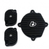 TBParts - Billet Head Cover Set for Zongshen Race Head Black1
