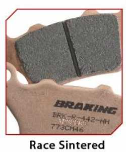 Braking - Front Brake Pad Set - Honda CR/CRF/XR - Sintered Hi-Performance