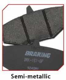 Braking - Rear Brake Pad Set - KTM SX65/MX80 - Semi Metallic1