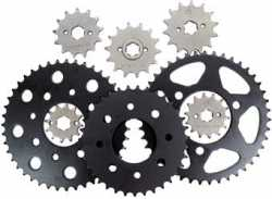 JT - Steel Rear Sprocket - Suzuki RM-X/RM-Z450 \'05-12 - 39, 43, 46-53