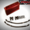 Billet Aluminum Oil Cooler Red - CRF50 & Pit Bikes1