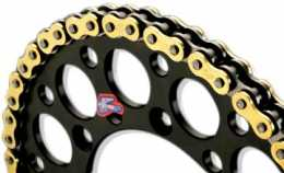 Renthal Gold Chain 420 x 130 Length R1 [C246]1