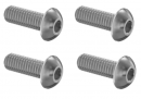4 pack of M4 x 7mm long  Quiet exhaust end cap Bolts1