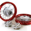 "10""  Red Aluminum Wheels - Honda CRF501"