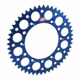 Renthal - Rear Sprocket - Yamaha YZ250F '01-12 - Blue - 48T-52T
