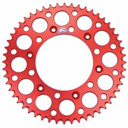 Renthal - Rear Sprocket - Honda CRF250R '04-12 - Red - 48T-53T