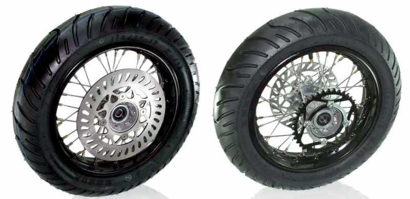"Honda Grom Price >> 12"" Super Wheel Moto Set - WHS-1118 - Wheels & Parts - Pit Bike Chassis Parts - TBolt USA, LLC"